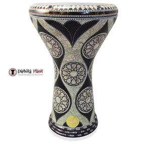 The 17'' Unis Gawharet El Fan Darbuka Doumbek