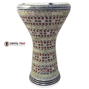 The 17'' Pepi Gawharet El Fan Darbuka Doumbek