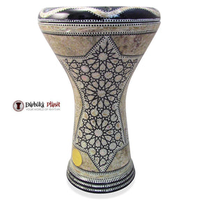 The 17'' Khaba Gawharet El Fan Darbuka Doumbek