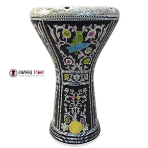 The 17'' Bird-of-paradise Gawharet El Fan Darbuka Doumbek