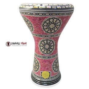 The 17'' Pink Lady Gawharet El Fan Darbuka Doumbek