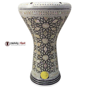 The 17'' Asteroid Gawharet El Fan Darbuka Doumbek