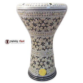 The 17'' Virgo Gawharet El Fan Darbuka Doumbek
