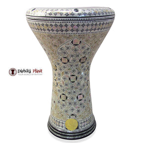 The 17'' Cosmos Gawharet El Fan Darbuka Doumbek