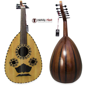 "El-Masry ""The Egyptian Sunset"" Professional Egyptian Oud + Professional Case - Cat#M4444"