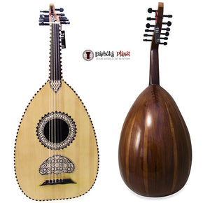 "El-Masry ""The Egyptian Crown"" Professional Egyptian Oud + Professional Case- Cat#M55"