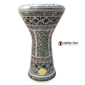 The New Generation 2.0 Anubis Darbuka Doumbek With Green Mother of Pearl Gawharet El Fan