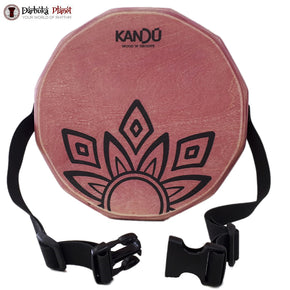 KTAK By Kandu -The First Portable Cajon ,Two-Sound Snare Hand Drum - (Red)