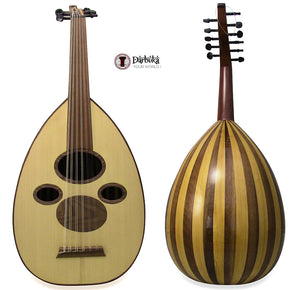 "Professional Syrian Arabic Oud ""Damascus Sky""+Soft Case Cat#S60CK- Repaired"