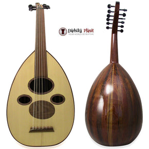 "Professional Syrian Arabic Oud ""Damascus Star""+Soft Case Cat#S60-MC"