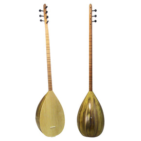 Zaza Percussion - Beginner/Intermediate Turkish Saz Baglama Mulberry Long Neck