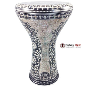 The 17'' Vega Mother of pearl Gawharet El Fan Darbuka Doumbek