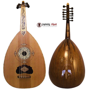 Shemi 3 - Syrian Arabic Professional Oud Damascus Style Made By Zeryab W/sofet Case