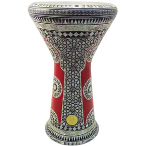 The 21'' Red Spider Sombaty XL Gawharet El Fan Darbuka