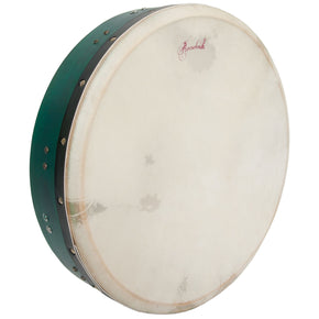 Roosebeck Tunable Mulberry Bodhran T-Bar 16-by-3.5-Inch - Green