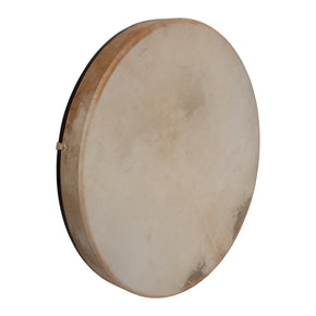 "DOBANI Pretuned Goatskin Head Wood Frame Drum w/ Beater 18""x2"""