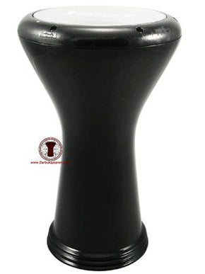 "17"" Black Percussion Gawharet El Fan Pro Darbuka Drum"