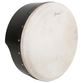 Roosebeck Tunable Ply Bodhran 15-by-5-Inch - Black