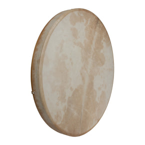 "DOBANI Tunable Goatskin Head Wooden Frame Drum w/ Beater 22""x2"""