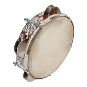Egyptian Tunable Tambourine 8.5""