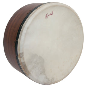 "Roosebeck Tunable Sheesham Bodhran Single-Bar 16"" x 7"""
