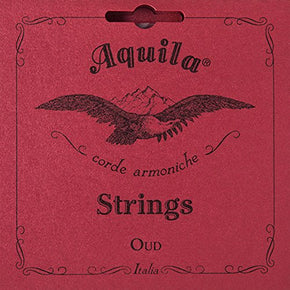 New ! Aquila Oud Strings Iraqi Tuning 11 Strings - Red Nylgut Model 610 (IRAQI - TUNE)