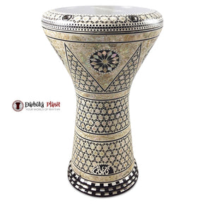 The 17'' Nemes Gawharet El Fan Darbuka Doumbek
