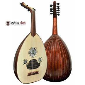 "Professional Turkish Oud ""The Turkish Star"" + Soft Case - Cat#166B"