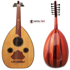 "El-Masry ""The Egyptian Flame"" Professional Egyptian Oud + Professional Case - Cat#M10"