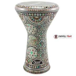 The New Generation 2.0 Green Star Darbuka Doumbek With Green Mother of Pearl Gawharet El Fan