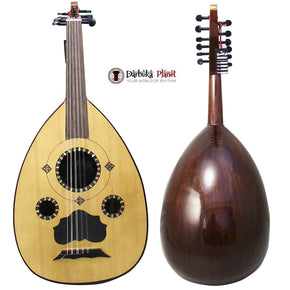 "El-Masry ""The Egyptian Spirit"" Professional Egyptian Oud + Professional Case- Cat#500 - Repaired"