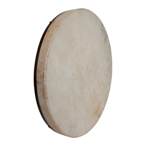 "DOBANI Pretuned Goatskin Head Wood Frame Drum w/ Beater 22""x2"""