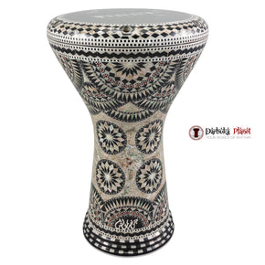 The 17'' Black Empire Gawharet El Fan Darbuka Doumbek
