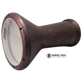 19'' Gawharet El Fan Cooper Metal Dohola Darbuka With Power Beat Skin Head