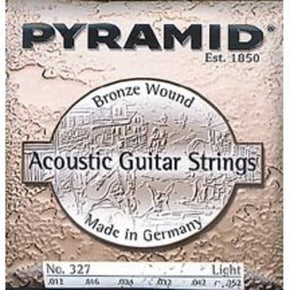Pyramid Premium Bronze Acoustic Guitar Strings Light 12-52 ( Model 327 100)