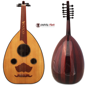 "El-Masry "" The Spider Eye"" Professional Egyptian Oud + Hard Case - Cat#M2"