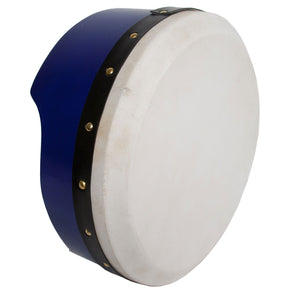Roosebeck Tunable Ply Bodhran 13-by-5-Inch - Blue