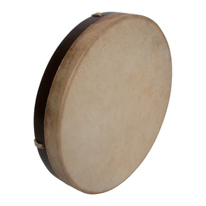"DOBANI Pretuned Goatskin Head Wood Frame Drum w/ Beater 12""x2"""