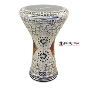 The 17'' The Brown Star Gawharet El Fan Darbuka Doumbek