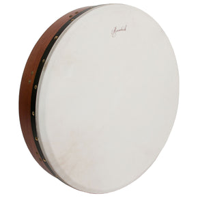 Roosebeck Tunable Red Cedar Bodhran Cross-Bar Soft Natural Head 18-by-3.5-Inch