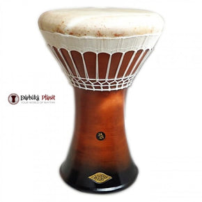 SAVVAS & ZAZA Percussion Joint Venture Darbuka Drum Doumbek - Medium Brown Earth Darbuka