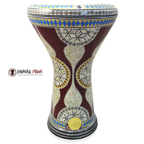 17'' Red Nile Gawharet El Fan Darbuka Doumbek