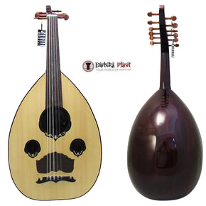 "El-Masry ""The Egyptian Sphinx"" Professional Egyptian Oud + Professional Case - Cat#M707"