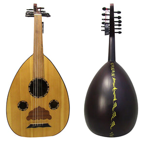 "El-Masry ""The Egyptian Sunset"" Professional Egyptian Oud + Professional Case - Cat#M90"