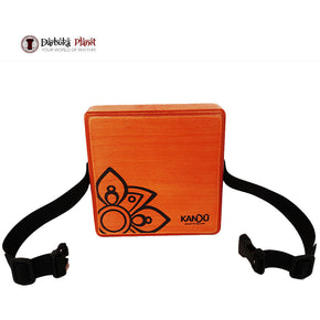 MashBox By Kandu -The first-ever wearable drum shaker,small Cajon - Dragon Fire