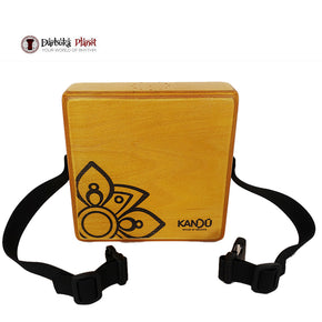 MashBox By Kandu -The first-ever wearable drum shaker,small Cajon -  Yellow Sahara