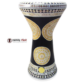 The 21'' Golden Sun Sombaty XL Gawharet El Fan Darbuka