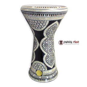The 21'' Black Shield Sombaty XL Gawharet El Fan Darbuka