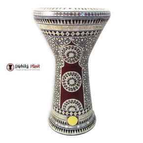 The 21'' Egyptian Star Sombaty XL Gawharet El Fan Darbuka