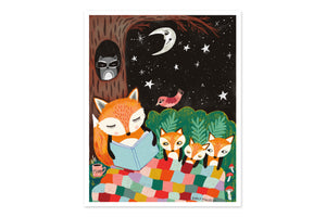 Starry Stories Art Print